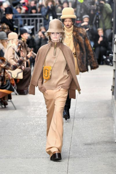 Hanne Gaby Odiele at Marc Jacobs.