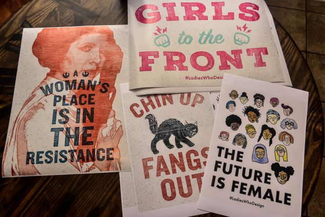 Women's March posters