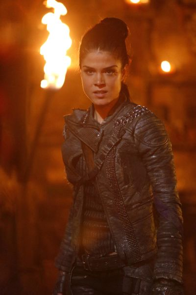 Marie Avgeropoulos as Octavia.