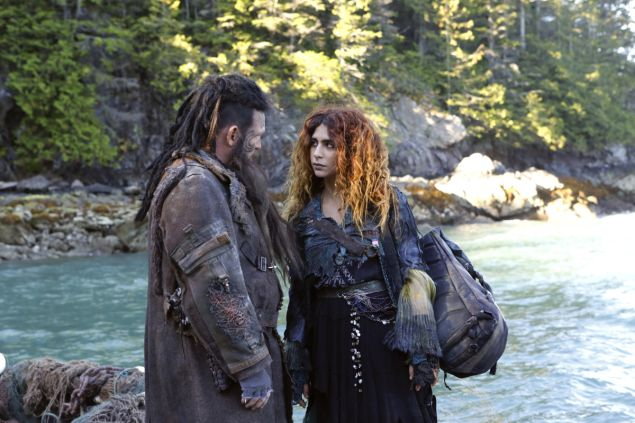 Ty Olsson as Nyko and Nadia Hilker as Luna.