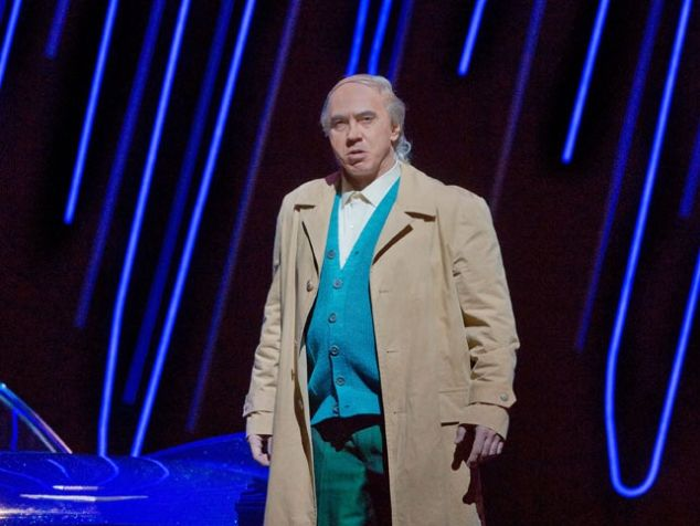 Dmitri Hvorostovsky as Rigoletto.