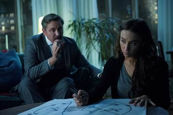 The Beast and Julia in The Magicians.