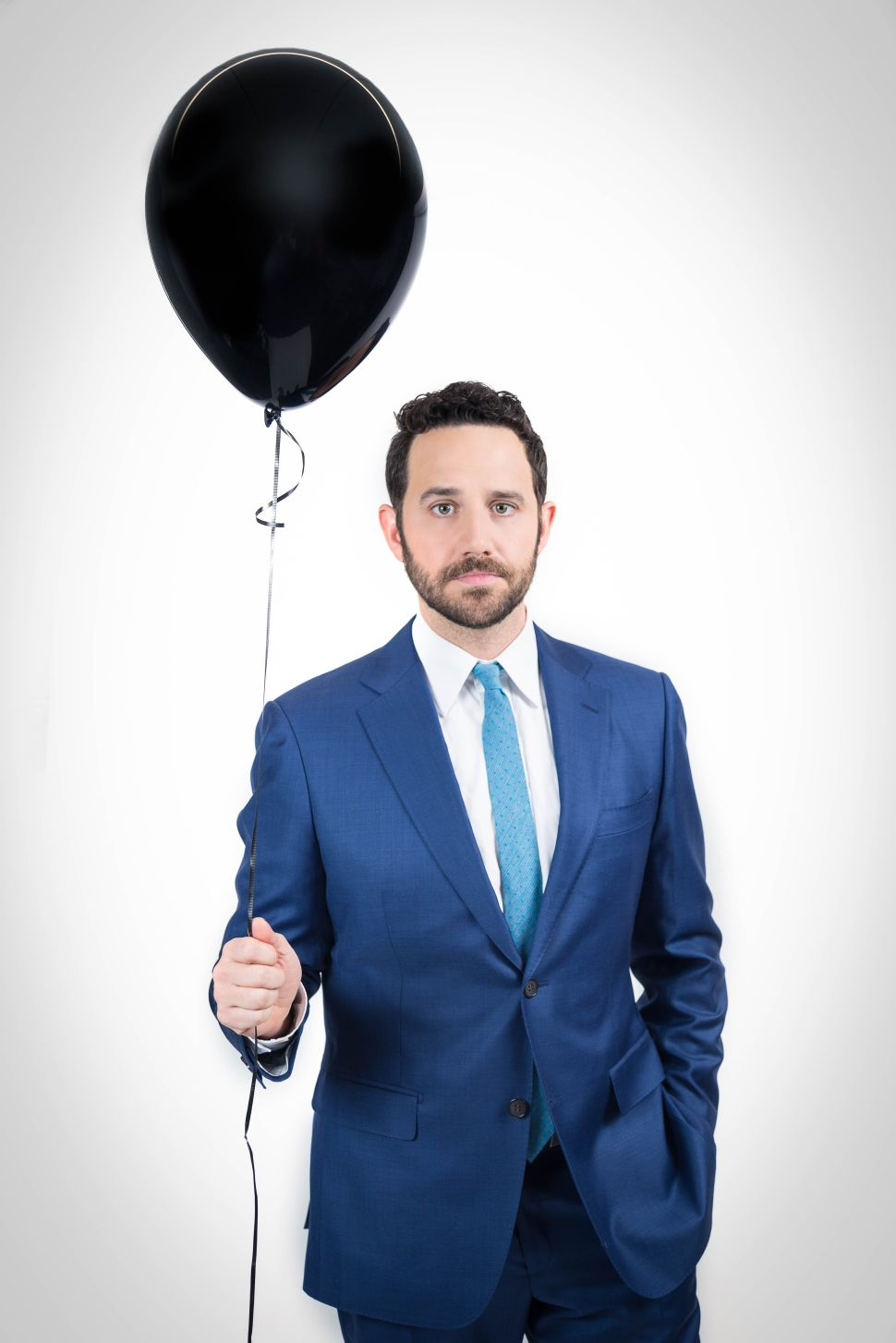 Santino Fontana photographed on February 15, 2017. Photo Credit: Kaitlyn Flannagan for Observer; Grooming by Muriel Vancauwen for Exclusive Artists using Bioderma and Caviar Style