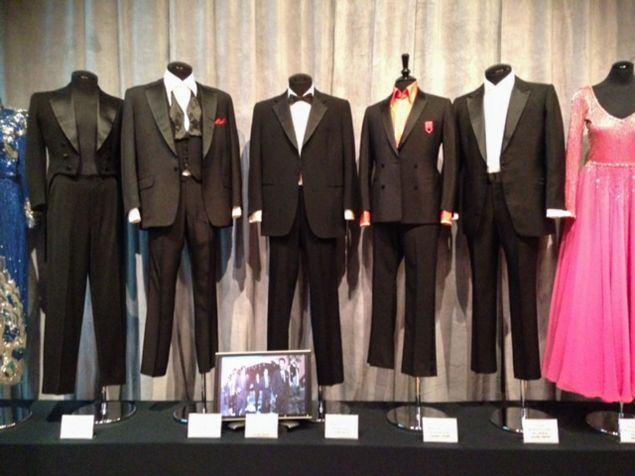 Suits from every member of the Rat Pack, auctioned off by Debbie Reynolds.
