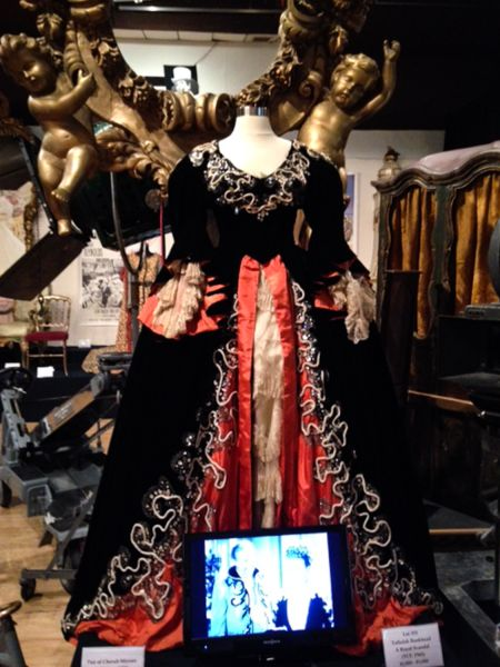 Katherine DeMille's dress from George Cukor's Romeo and Juliet.
