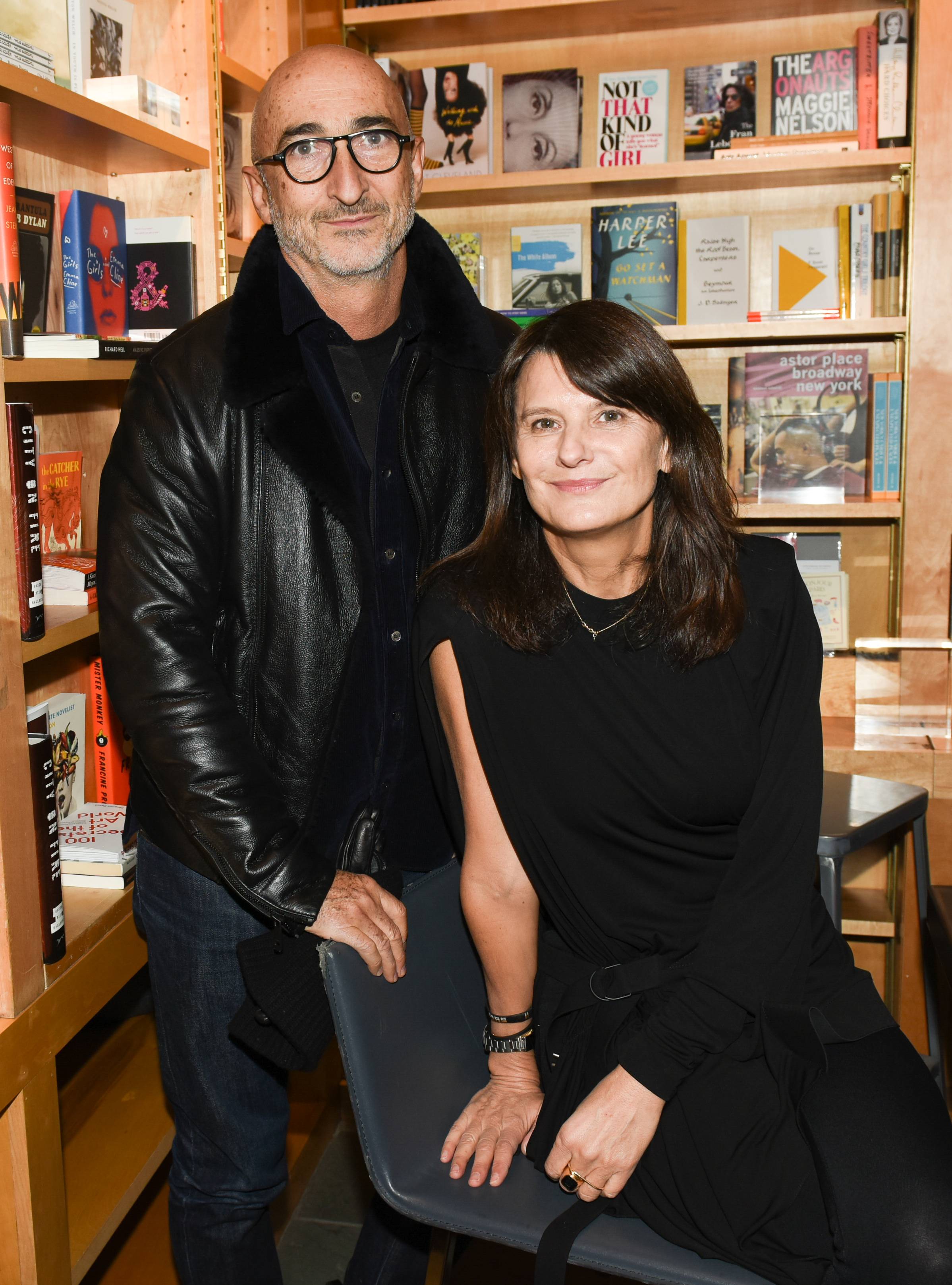 Marie-Amélie Sauvé at Bookmarc to celebrate the Launch of Mastermind Magazine
