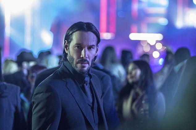 Keanu Reeves as John Wick.
