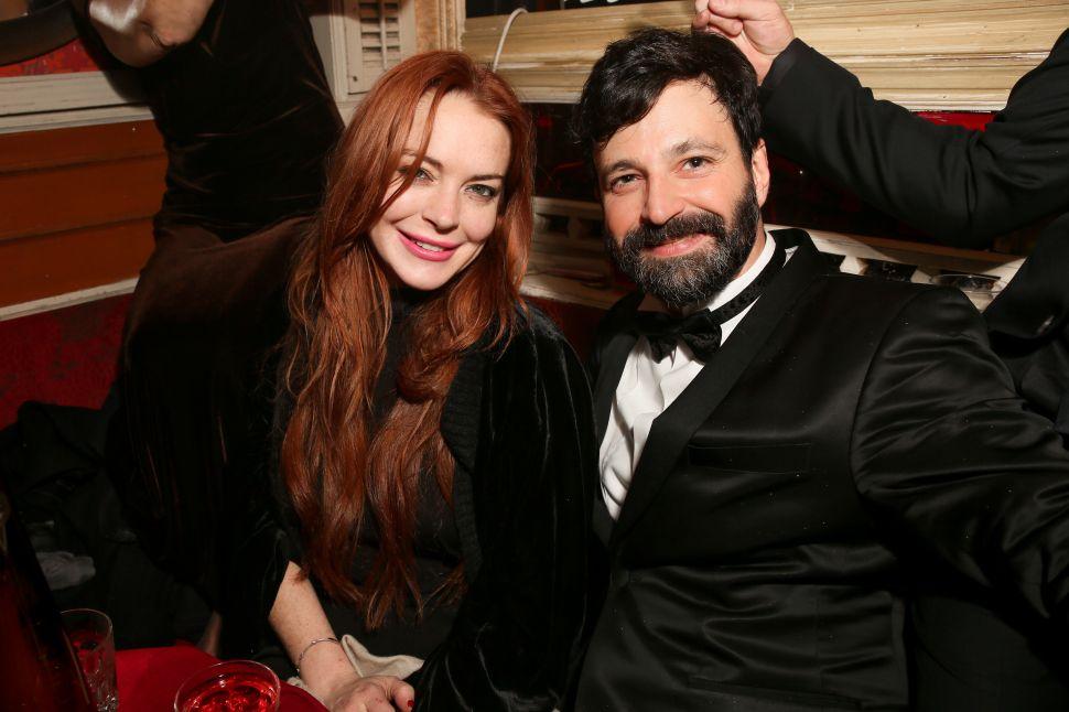 Lindsay Lohan, Simon Hammerstein.