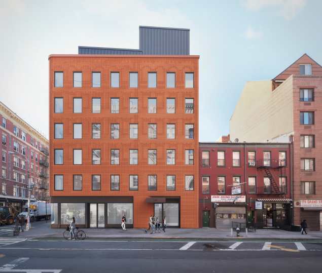 What's to come at 185-189 Grand Street.