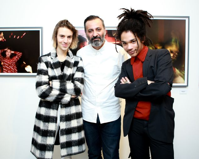 Noah Dillon, Mazdack Rassi and Luka Sabbat.