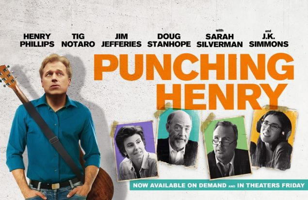 The poster for Punching Henry.