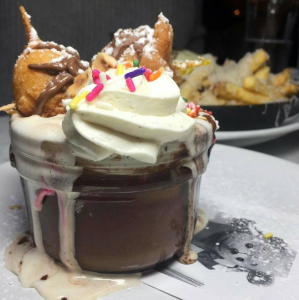 If you're feeling particularly decadent, you could always ask them to top the soufflé with Nutella beignets.
