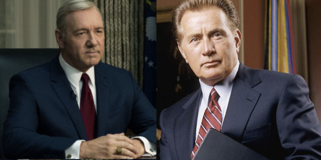 Frank Underwood v. Jed Bartlet.