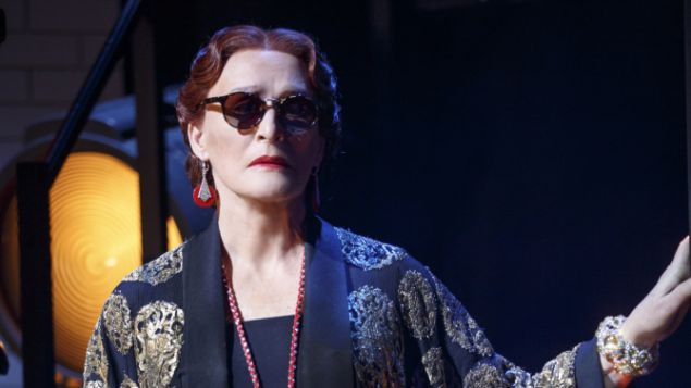 Glenn Close in Sunset Boulevard.