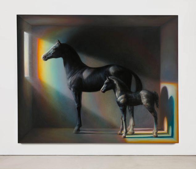 TM Davy, horses (xo), 2016.