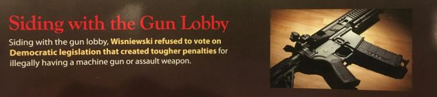 The mailer from Murphy's camp.