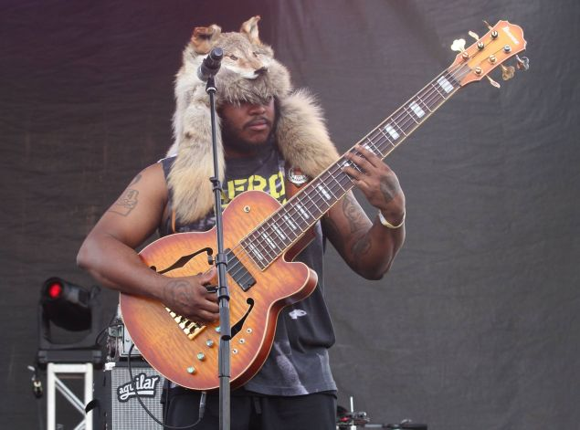 Thunder at AFROPUNK '15