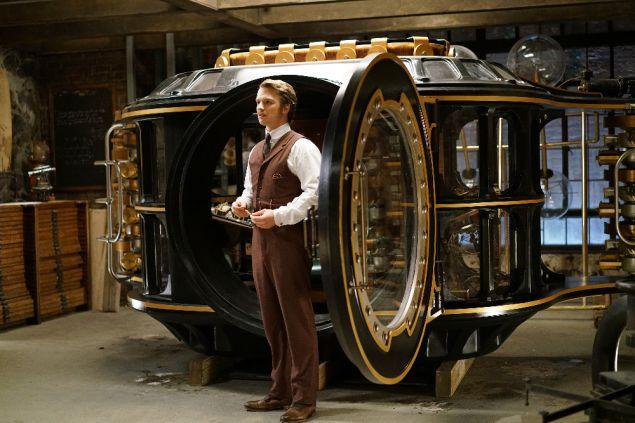 Freddie Stroma as H.G. Wells.