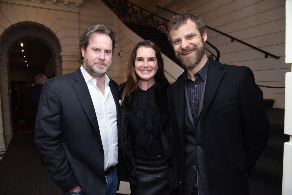 Chris Henchy, Brooke Shields, Matt Stone.