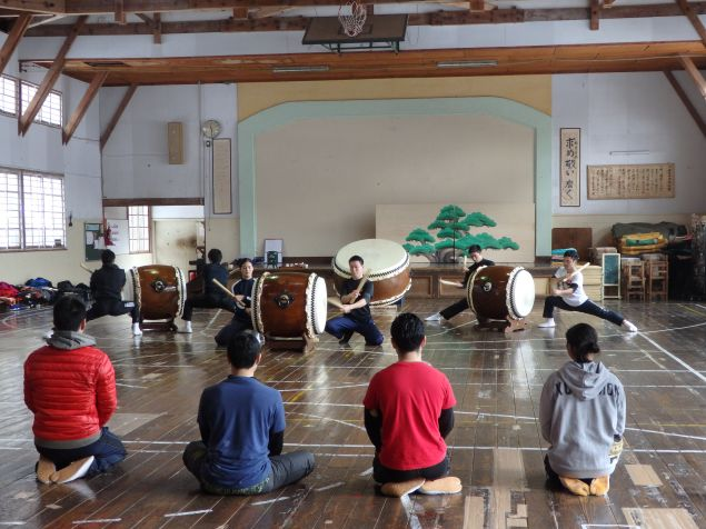 At Kodo's apprentice center, youngsters train to be company members from a young age.
