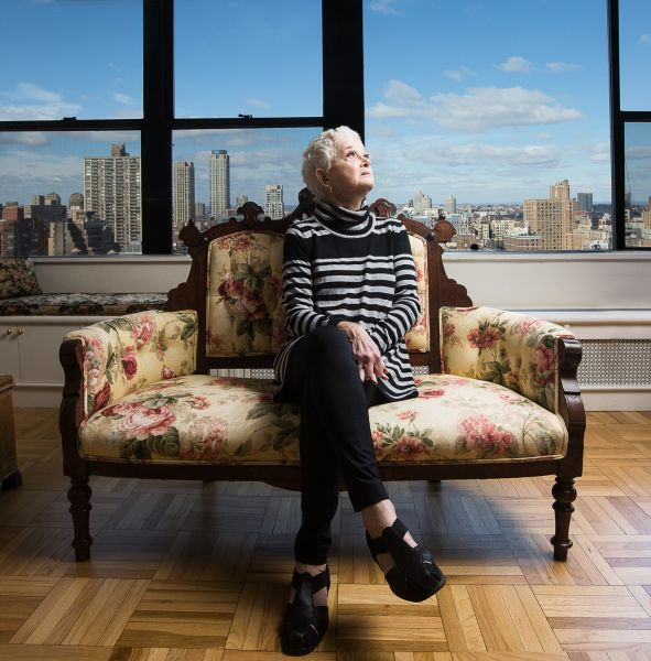 Barbara Barrie at her home.