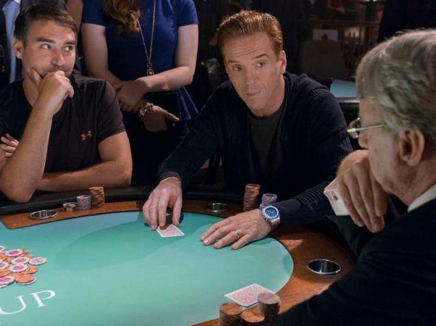 """Damian Lewis as Bobby """"Axe"""" Axelrod."""