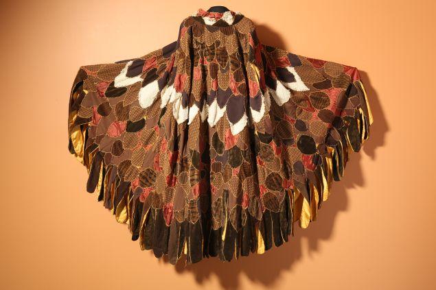 Eagle cape by Neshama Franklin
