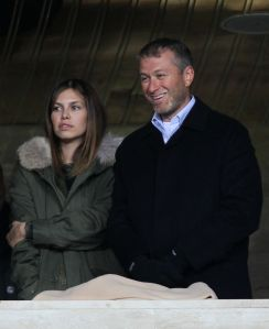 Roman Abramovich and Dasha Zhukova.
