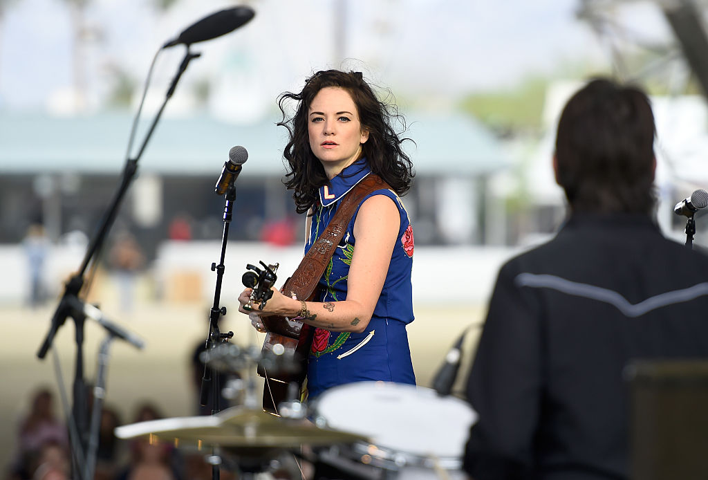 Nikki Lane performs onstage during day two of 2015 Stagecoach, California's Country Music Festival, at The Empire Polo Club on April 25, 2015 in Indio, California. (Photo by Frazer Harrison/Getty Images for Stagecoach)