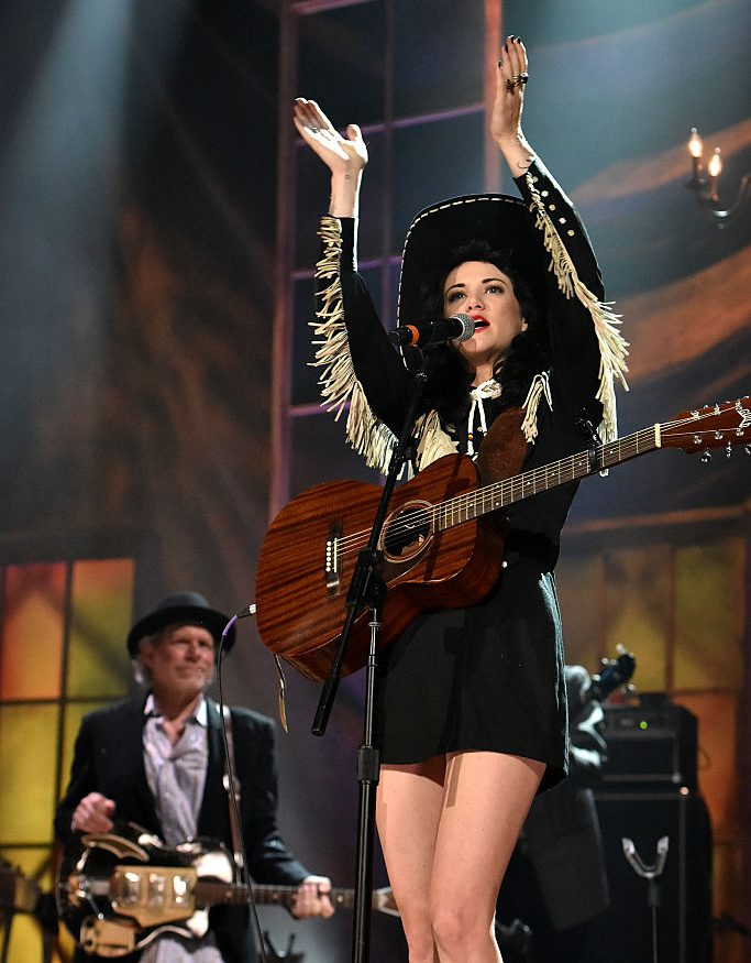 performs onstage at the 14th annual Americana Music Association Honors and Awards Show at the Ryman Auditorium on September 16, 2015 in Nashville, Tennessee.