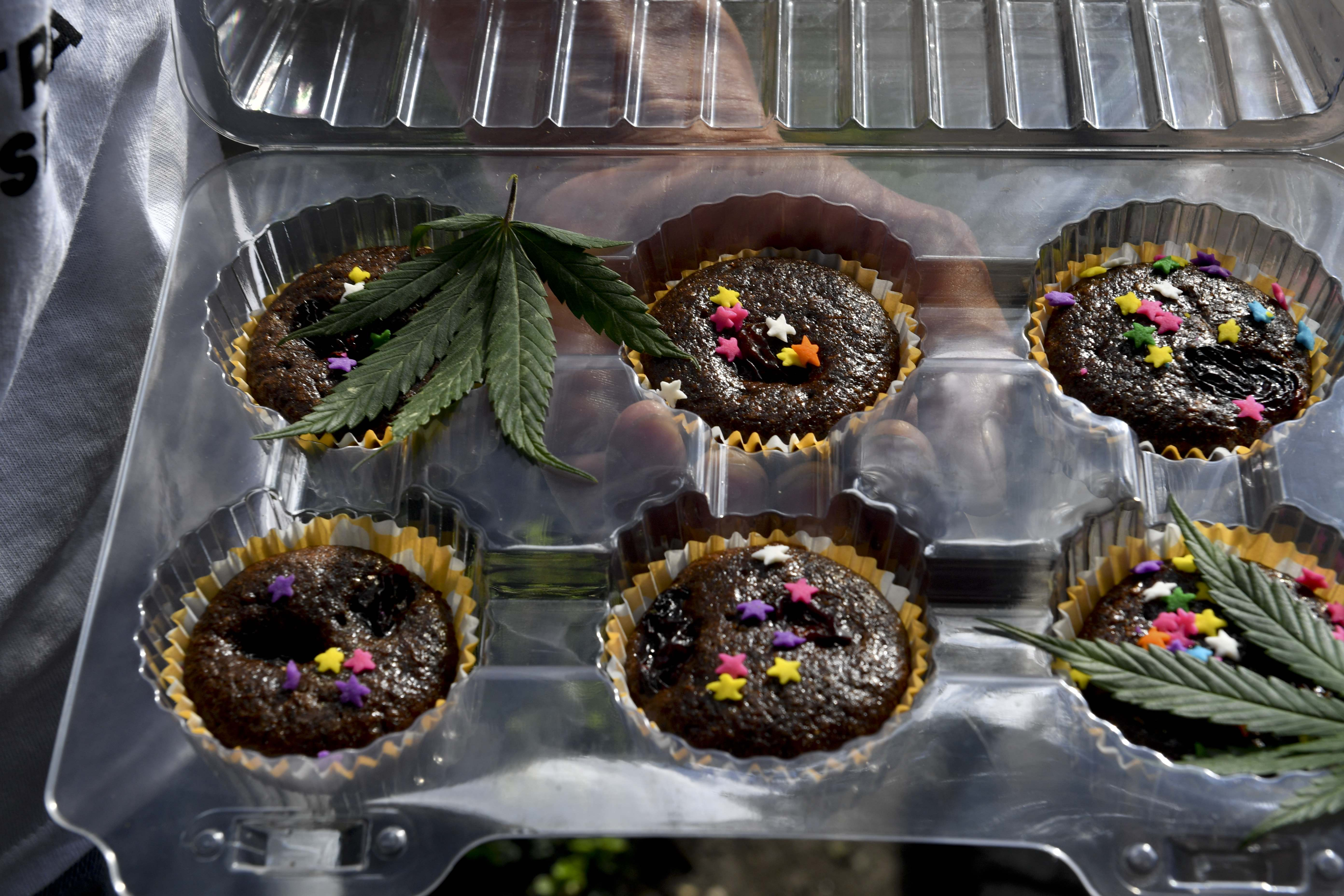Edibles come in a variety of forms.