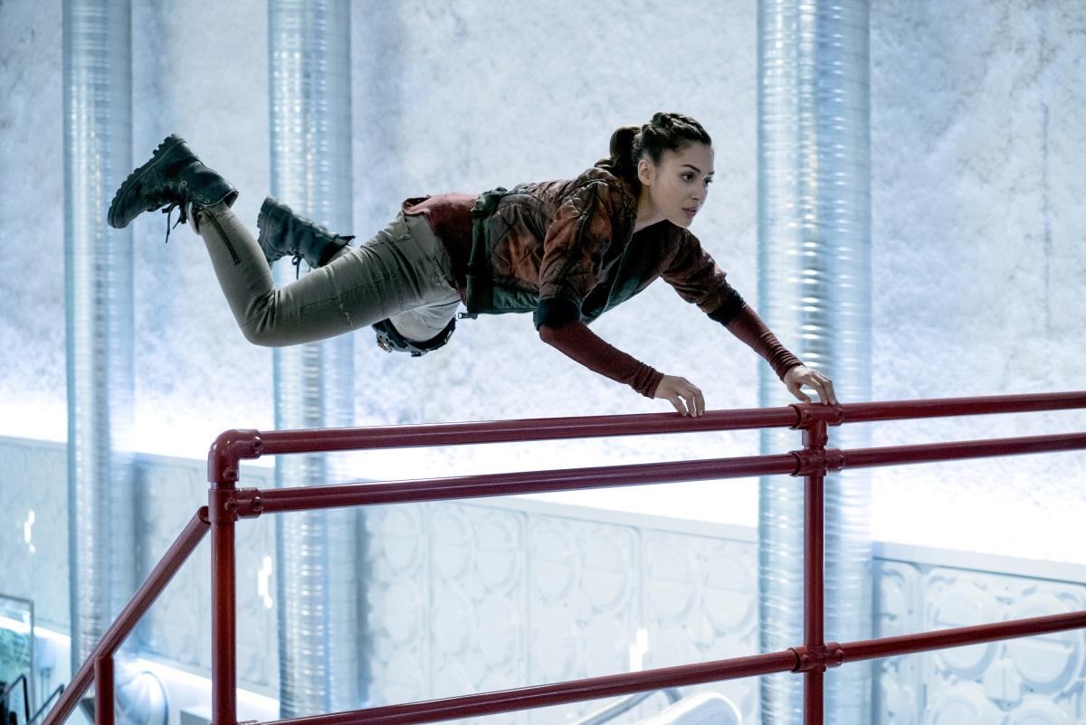 Lindsey Morgan as Raven.