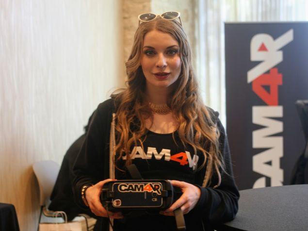 Ela Darling, Cam4VR, SXSW 2017, JW Marriott
