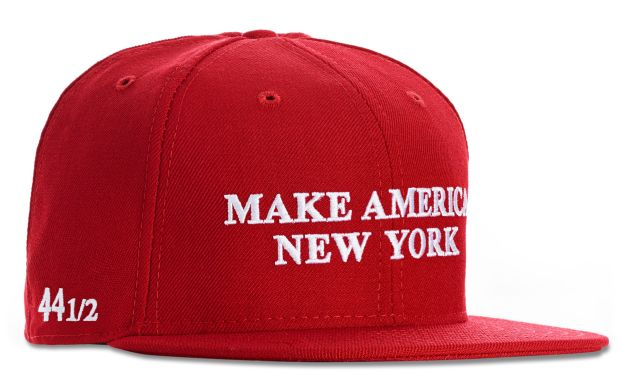 The Make America New York hats from Public School.