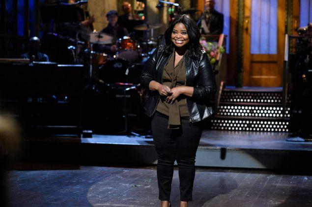 Octavia Spencer on Saturday Night Live.