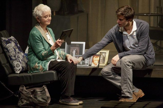 Barbara Barrie and Gideon Glick in Significant Others.