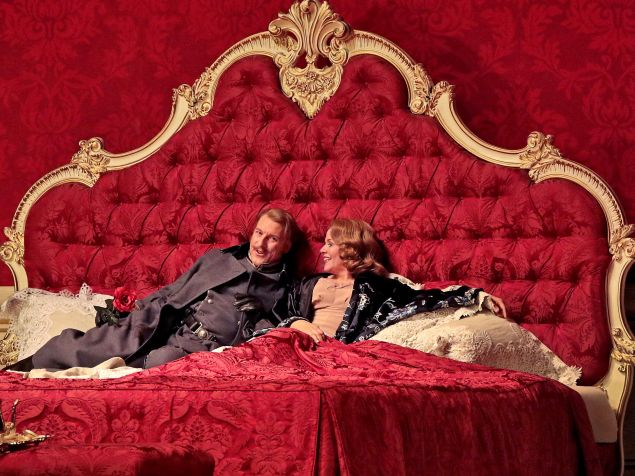 Günther Groissböck (left) deftly steals the show from Renée Fleming in 'Der Rosenkavalier'.