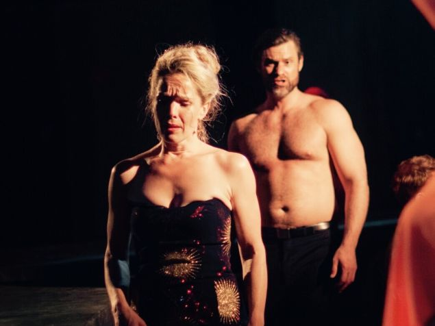 Heather Buck and Randall Scotting work through their grief at LoftOpera.