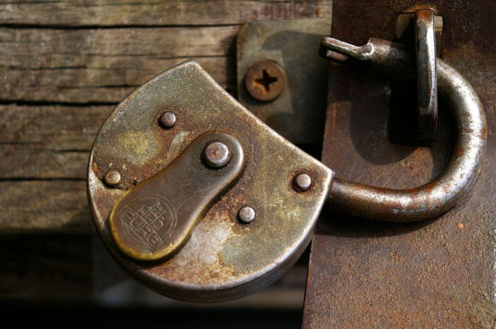 castle padlock