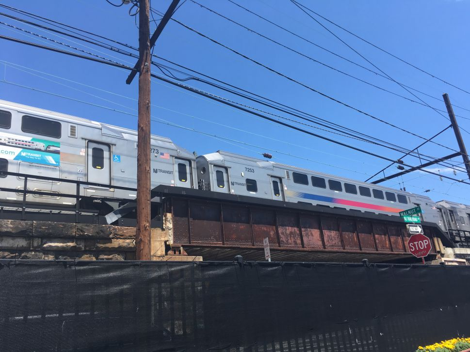 An NJ Transit train.