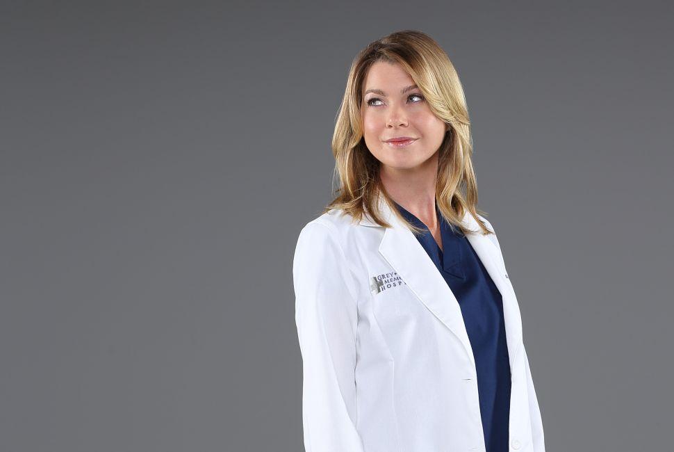ELLEN POMPEO Grey's Anatomy Shonda Rhimes