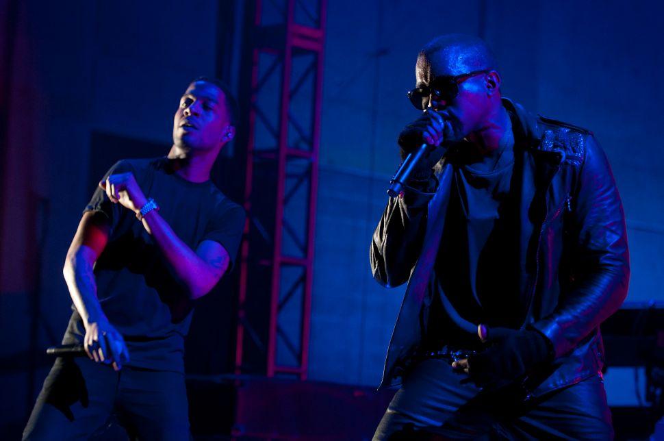 Kanye West Kid Cudi Secret Project