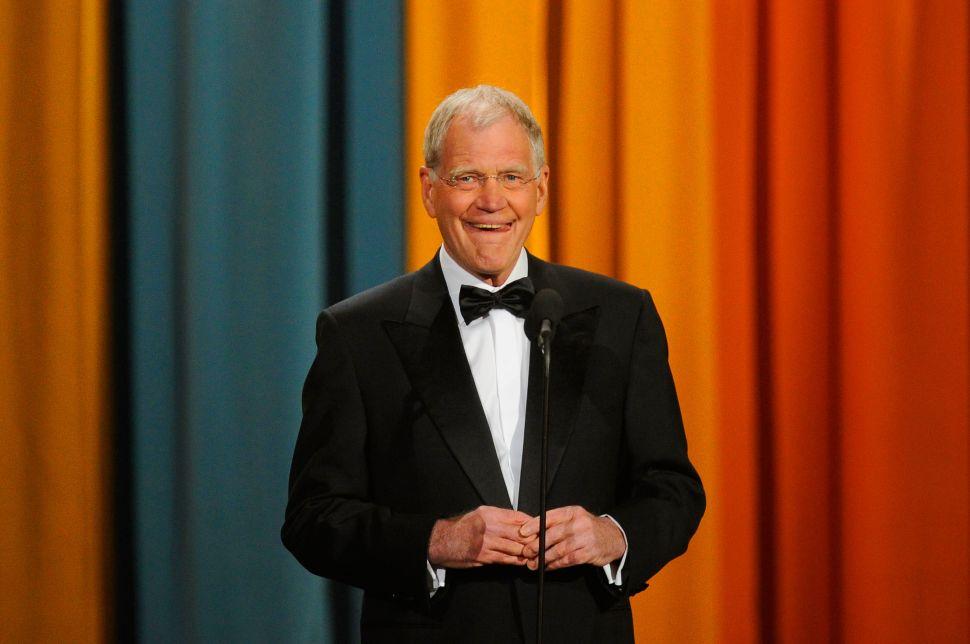 David Letterman Netflix Talk Show