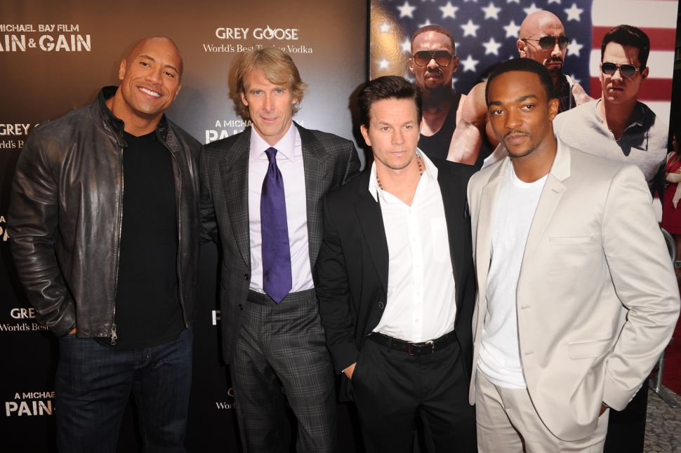 Mark Wahlberg Dwayne Johnson Highest Paid Actor