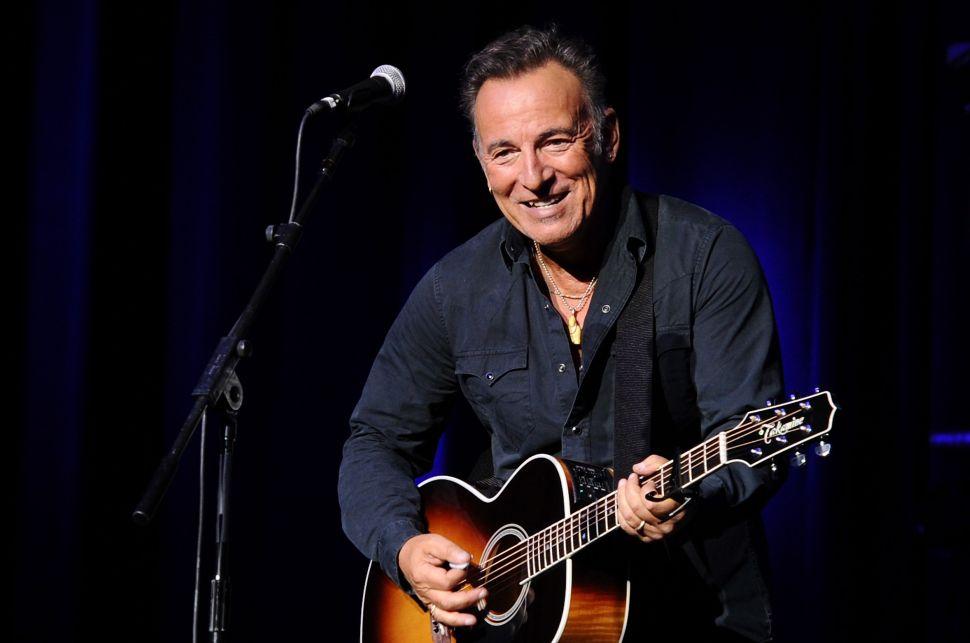 Bruce Springsteen Broadway Debut