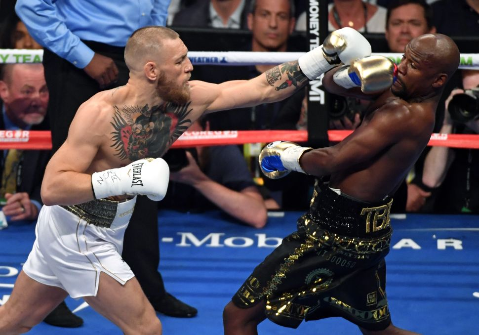 Floyd Mayweather vs Conor McGregor ppv piracy