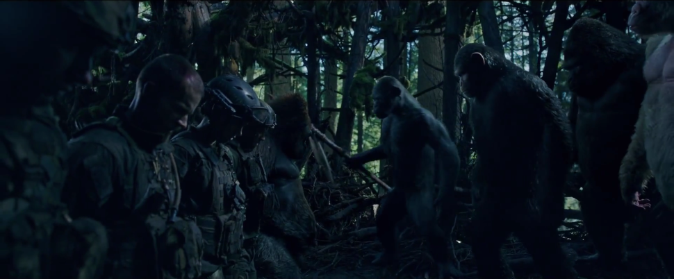 Oscars Fox War for the Planet of the Apes