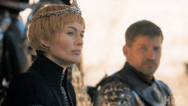 Cersei and Jaime Lannister.