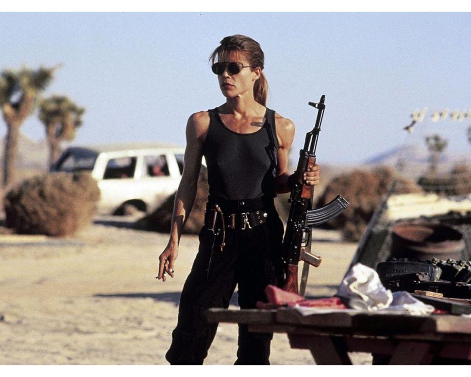 Linda Hamilton New Terminator Franchise