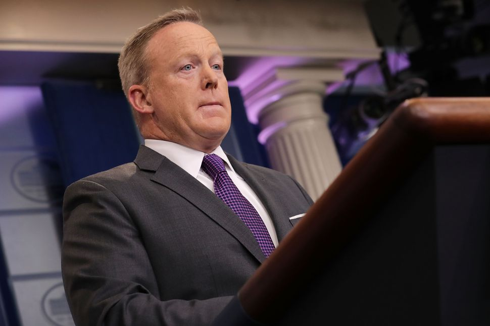 Sean Spicer TV & Book Deals Details